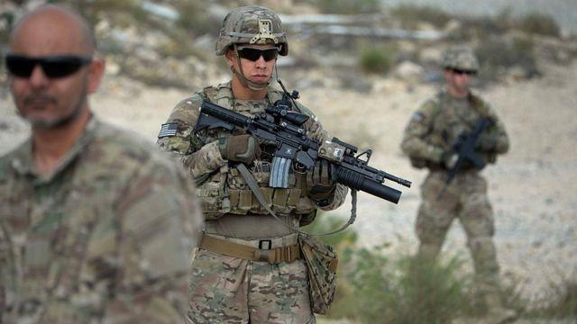अमरीकी सेना पिछले 17 सालों से अफ़ग़ानिस्तान में तैनात है