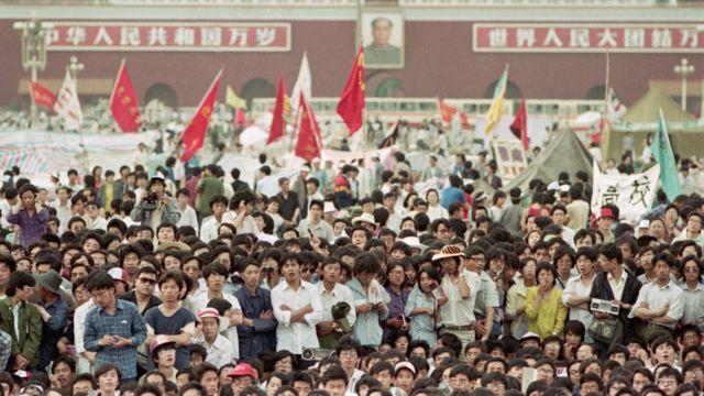 1989年春夏之交的北京天安门广场