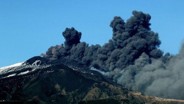 crni dim iz Etne