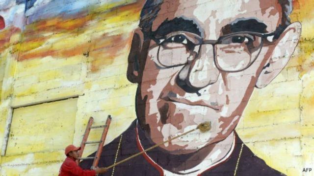 Mural de monseñor Romero