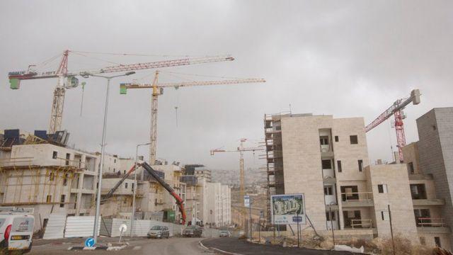 مستوطنة قرب القدس الشرقية المحتلة