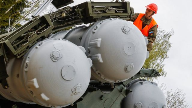 S-400 füze savunma sistemi