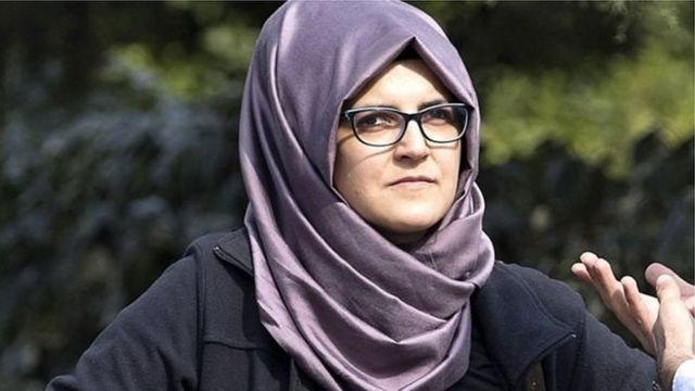 خطيبة الصحفي السعودي جمال خاشقجي