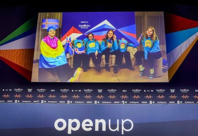 """Yarışmanın favorilerinden İzlandalı """"Dadi ve Gagnamagnid"""" adlı grup"""