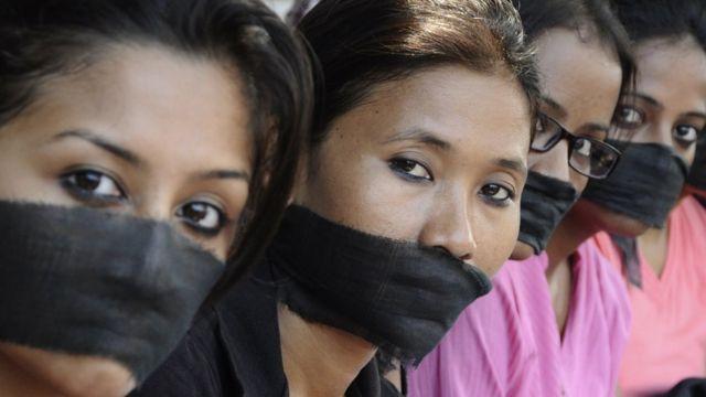 बलात्कार के ख़िलाफ़ प्रदर्शन (फ़ाइल फ़ोटो)