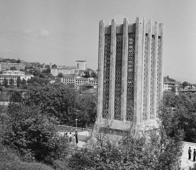 Molla Pənah Vaqifin məqbərəsi. 1983-cü il.