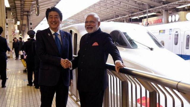 नरेंद्र मोदी, भारत, जापान, शिंजो आबे