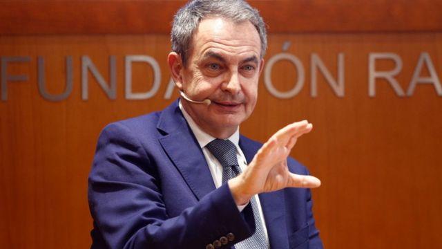 Zapatero, expresidente de España.