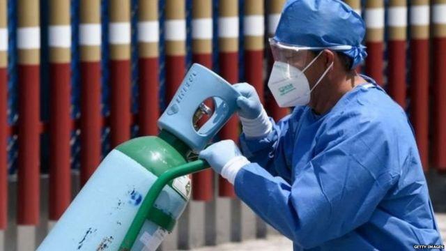 महाराष्ट्र में ऑक्सीजन संकट की समस्या कितनी गंभीर - BBC News हिंदी
