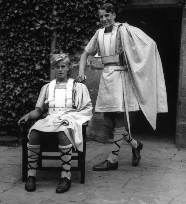 Принц Філіп у костюмі Макбета