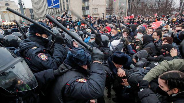 protestы v moskve