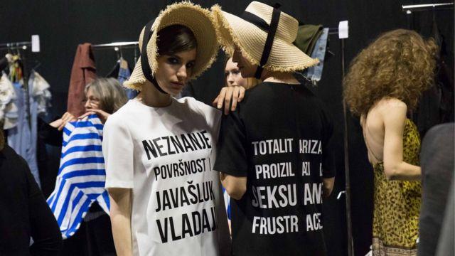 Beogradska nedelja mode, Milena Dravić