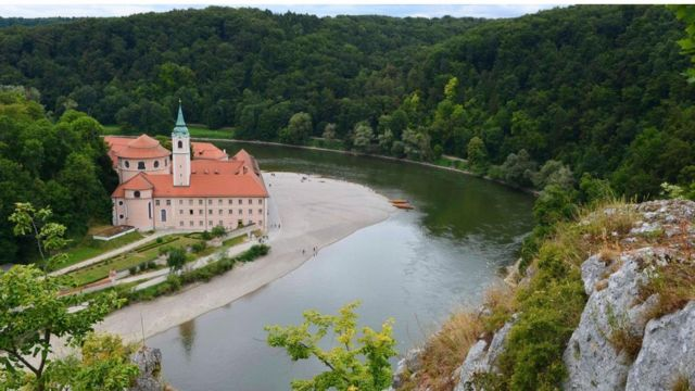 El monasterio de Weltenberg