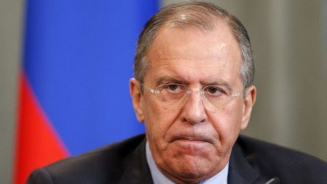 Waziri wa maswala ya kigeni nchini Urusi Sergei Lavrov