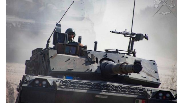 """Італійський танк """"Аріетта"""""""