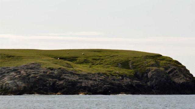 Безлюдный остров Скаравей