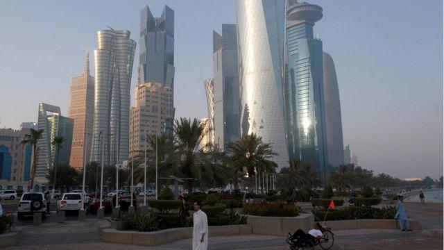 Arranha-céus em Doha