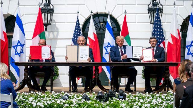İsrail BAE ve Bahreyn ile ilişkileri normalleştirme anlaşması imzaladı