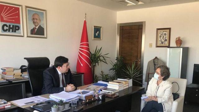 CHP Genel Başkan Yardımcısı Muharrem Erkek, Ankara'da BBC Türkçe'den Ayşe Sayın'ın sorularını yanıtladı