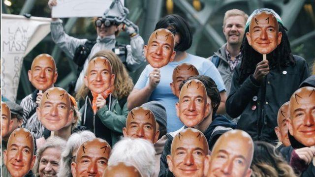 كانت هناك احتجاجات ضد برنامج التعرف على الوجه من أمازون لكن جاسي دافع عن استخدامه