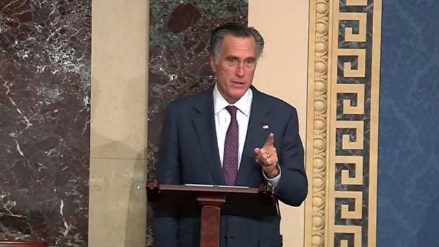 Mitt Romney, senador por Utah