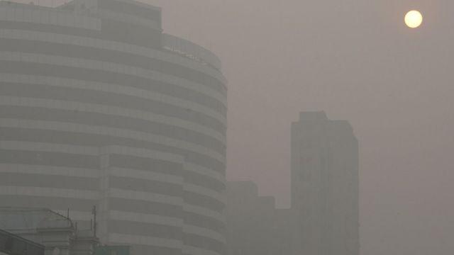 آلودگی شدید در دهلی نو
