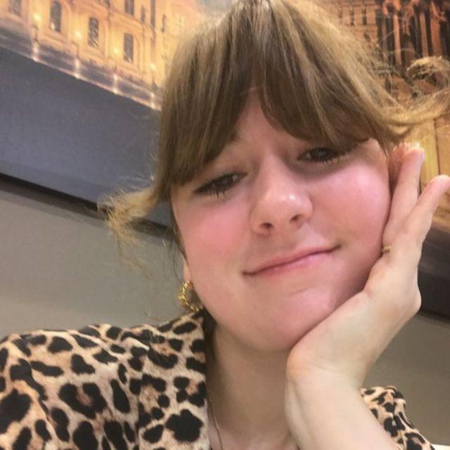 Jewellery student Joy Bonfield-Colombara