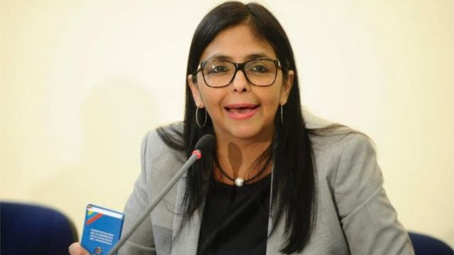Canciller venezolana Delcy Rodríguez.