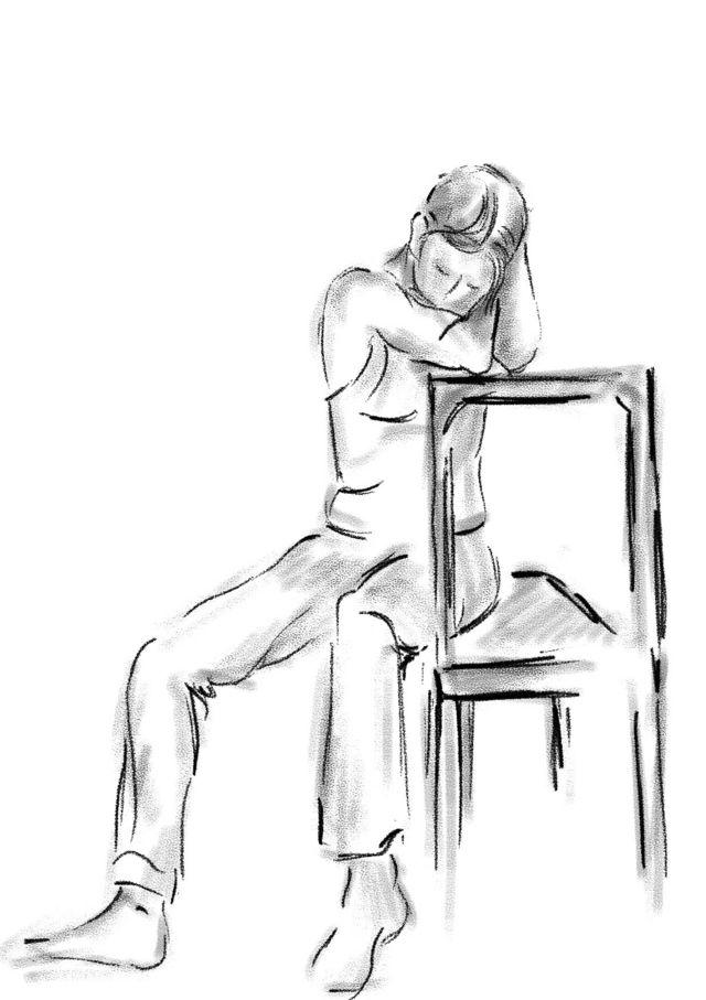 Kadın sandalye