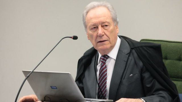 O ministro Ricardo Lewandowski