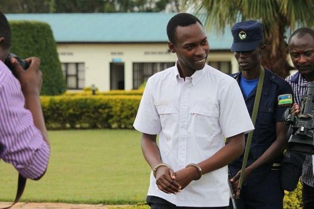 Mu 2014 ubwo Cassien Ntamuhanga yerekwaga abanyamakuru hashize igihe gito aburiwe irengero