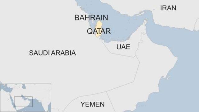 Taswirar Qatar da kasashen Gulf