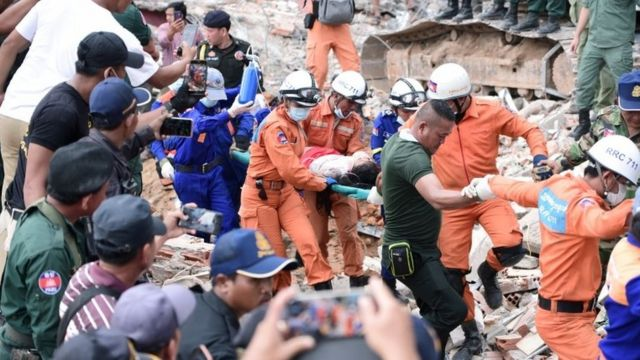Cambodia: Sihanoukville building collapse death toll rises