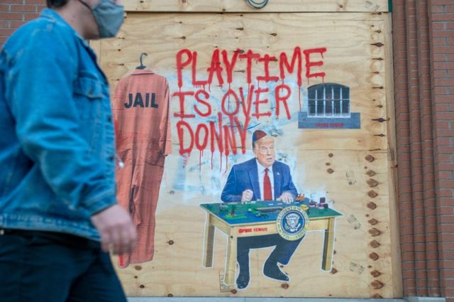 Graffitti contraTrump