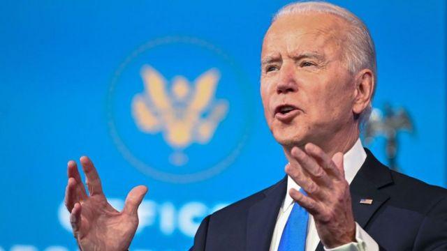 Biden, el 14 de diciembre