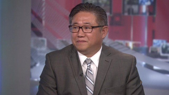 Kenneth Bae speaks about his two year imprisonment in North Korea with Katty Kay
