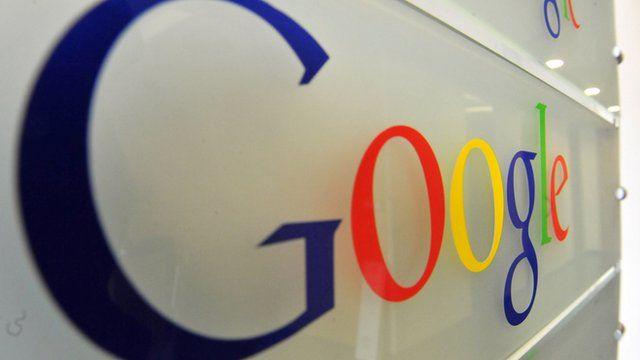 Logo at a Google office