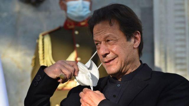 পাকিস্তানের প্রধানমন্ত্রী ইমরান খান।