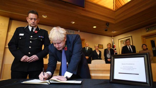 英国首相鲍里斯•约翰逊(Boris Johnson)