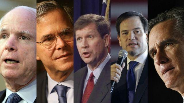 McCain, Jeb Bush, Kasich, Rubio e Romney estão entre os republicanos que não participarão de evento com Trump