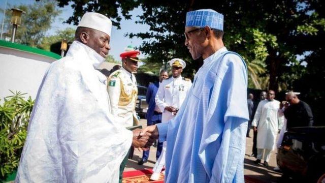 Shugaba Buhari ya ce za su nemi Yahya Jammeh ya mutunta tsarin mulki