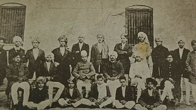 Bhagat Singh : fourth from right