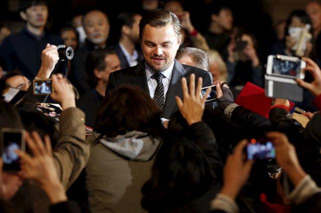 Leonardo DiCaprio n'abafana be