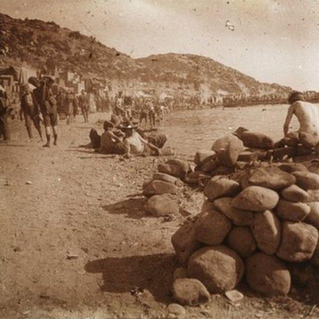 Anzak Koyu'ndaki askerler, Mayıs 1915
