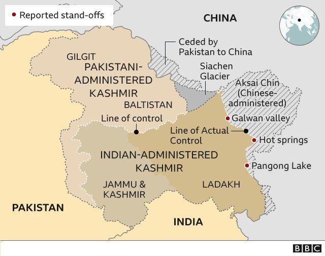 Từ trước tới nay, hai bên mới chỉ có một lần giao tranh, vào hồi 1962, và Ấn Độ đã thảm bại trong lần đó.