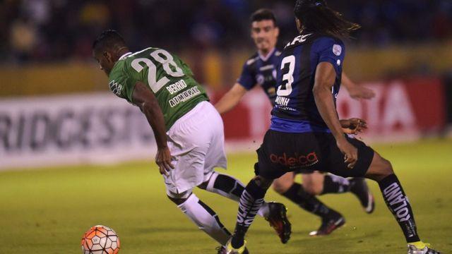 Partido de ida de la final de la Copa Libertadores