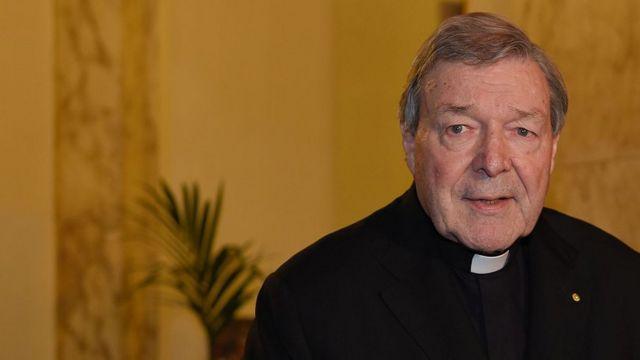 ペル枢機卿は容疑を繰り返し否認してきた。写真は昨年ローマで記者会見した枢機卿