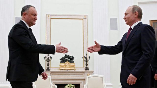 Dodon və Putin