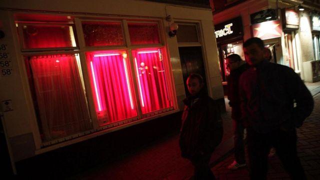 阿姆斯特丹紅燈區