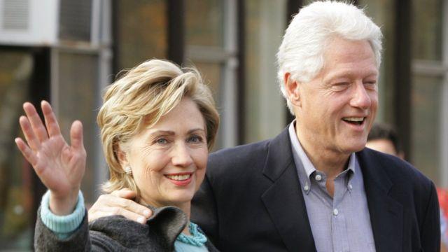 हिलेरी क्लिंटन और बिल क्लिंटन